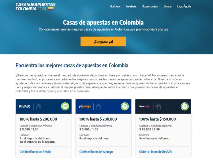Casa de Apuestas Colombia