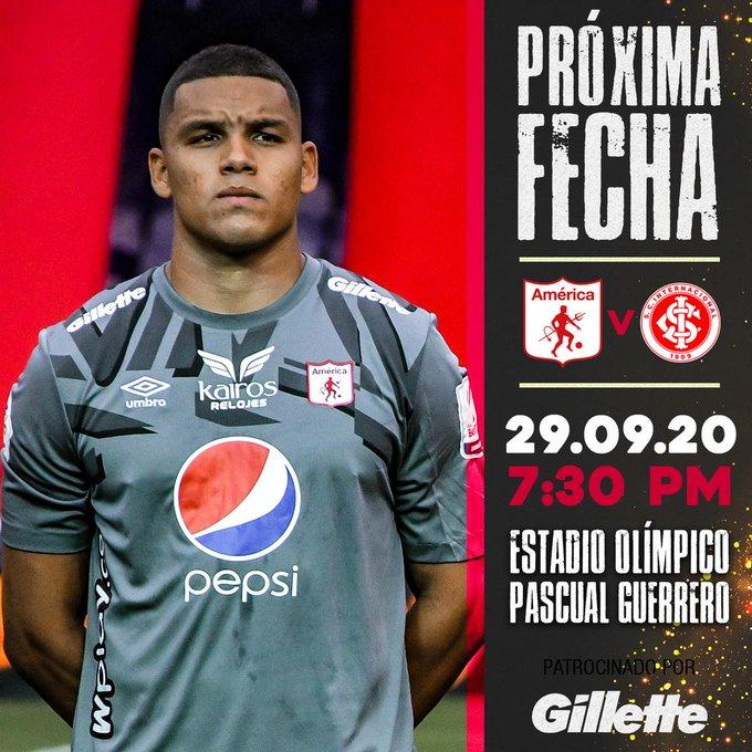 Apuestas Copa Libertadores América vs Internacional