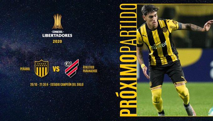 Copa Libertadores, Peñarol vs Paranaense