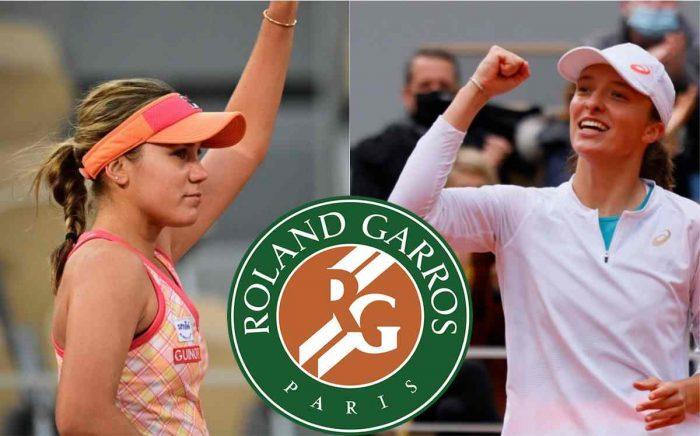 Final femenina roland Garros Kenin vs Swiatek