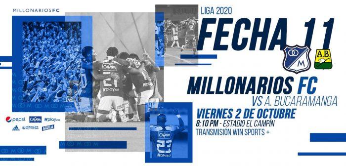 Pronósticos Millonarios vs Bucaramanga