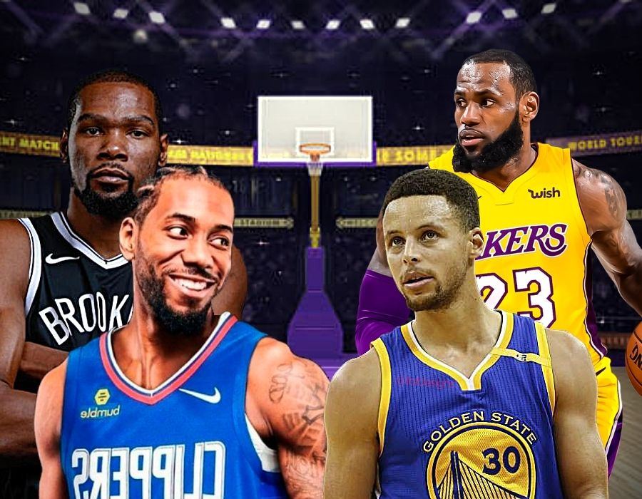 Guía NBA Plantillas_ Warriors, Nets, Lakers, Clippers