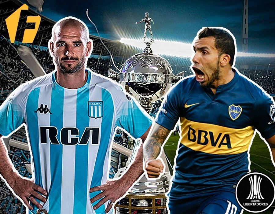 Pronósticos Racing vs Boca Junior _ Copa Libertadores