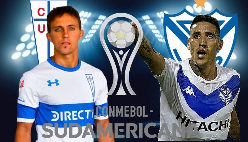 Pronósticos Universidad Católica vs Vélez   Copa Sudamericana