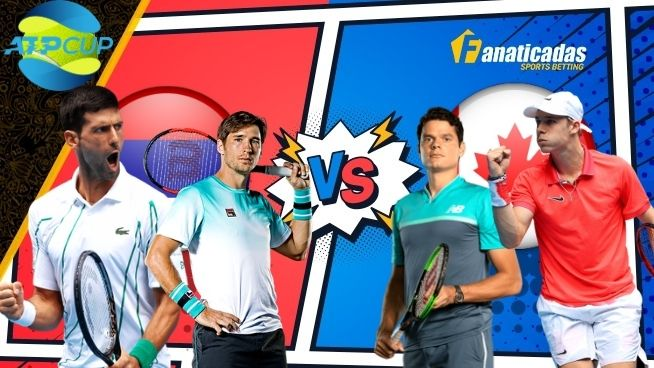 Pronósticos ATP Cup Serbia vs Canadá _ Apuestas Tenis