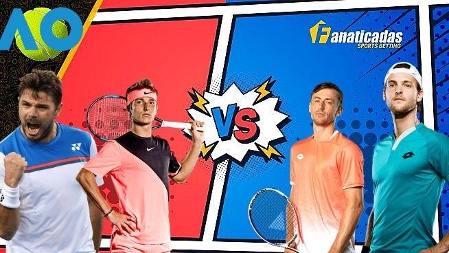 Pronósticos Australian Open _ Moutet vs Millman; Wawrinka vs Sousa