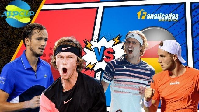 Pronósticos Semis ATP CUP | Apuestas Alemania vs Rusia