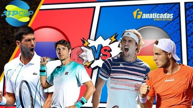 Pronósticos Serbia vs Alemania _ Apuestas ATP Cup