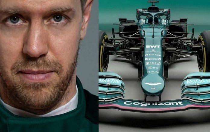 F1_ El nuevo monoplaza de Sebastián Vettel en Aston Martin
