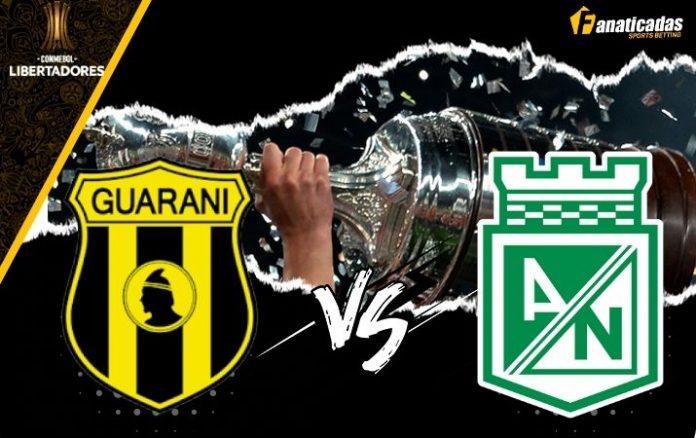 Pronósticos Guaraní vs Atlético Nacional _ Apuestas Copa Libertadores