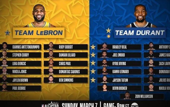 Team LeBron vs Team Durant: NBA All-Star