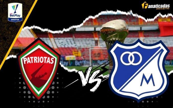 Pronósticos Patriotas vs Millonarios _ Apuestas Liga FPC
