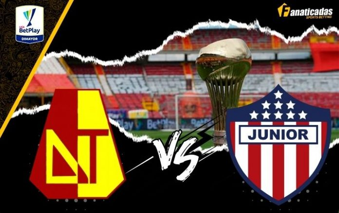Pronósticos Tolima vs Junior _ Apuestas Liga FPC