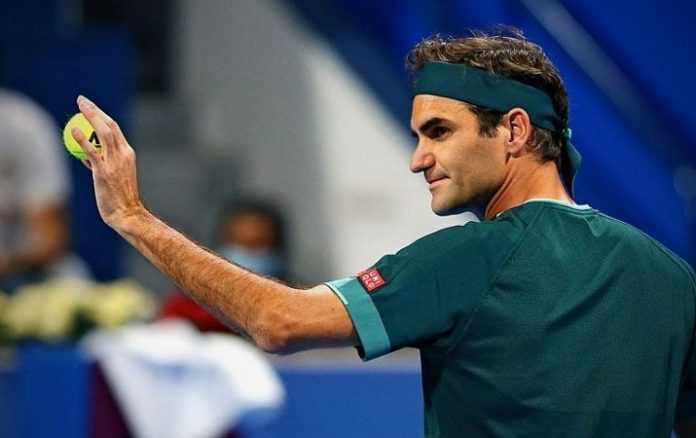 Roger Federer se baja de Dubai