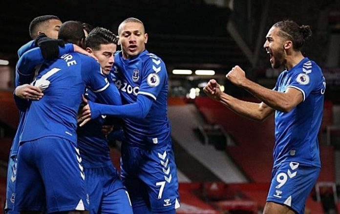 Semana decisiva para el Everton de James