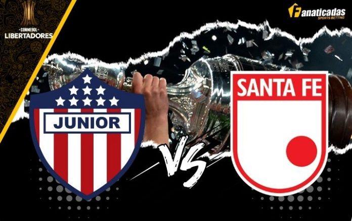 Pronósticos Junior vs. Santa Fe _ Copa Libertadores