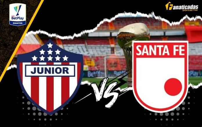 Pronósticos Junior vs. Santa Fe _ Liga BetPlay