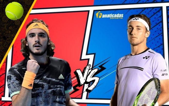 Pronósticos ATP Masters 1000 de Madrid Casper Ruud vs. Stefanos Tsitsipas