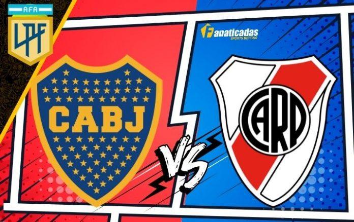 Pronósticos Boca Juniors vs. River Plate Liga Argentina