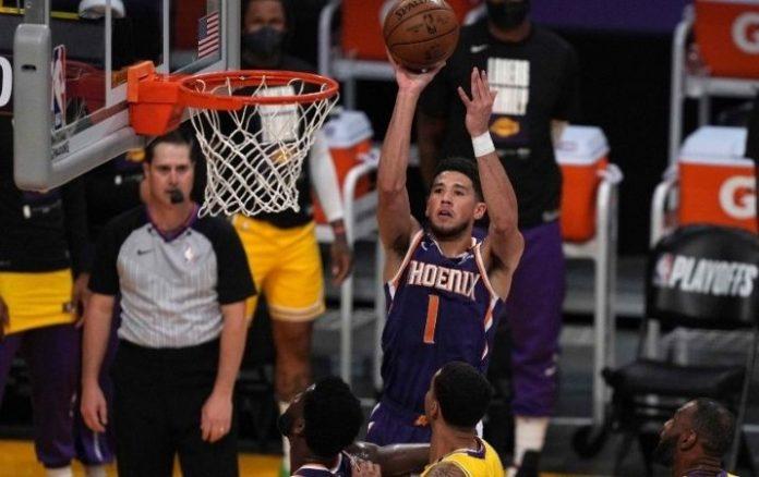 NBA Booker y los Suns eliminaron a los Lakers