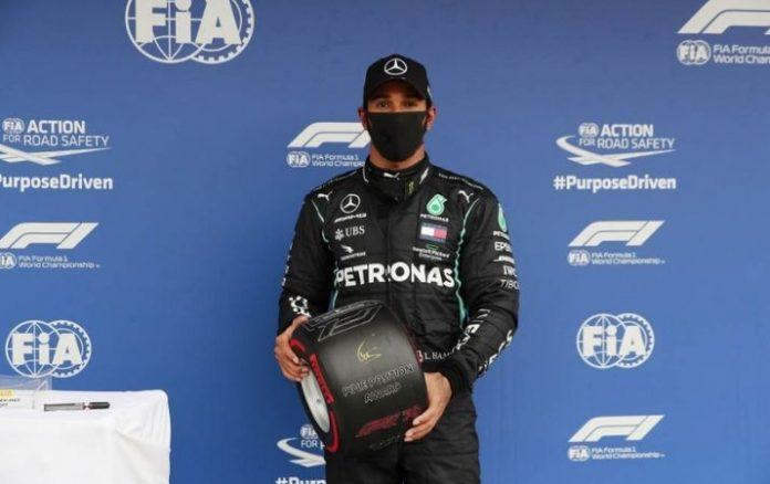 F1 Una vuelta brillante de Hamilton le da la pole sobre Verstappen