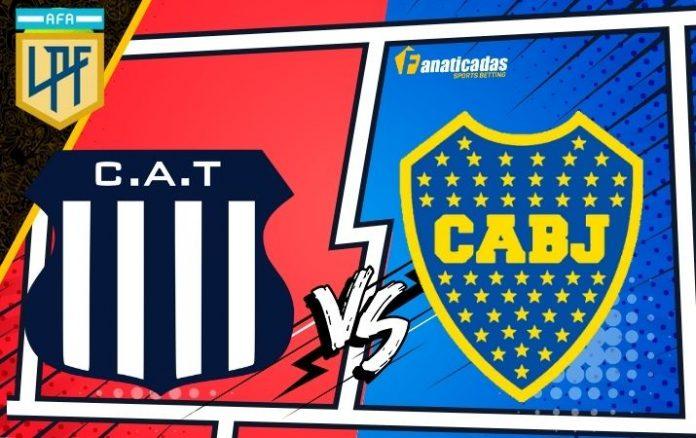 Superliga Argentina Talleres vs. Boca Predicciones y Previa