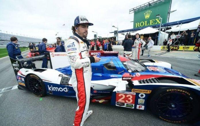 F1 Fernando Alonso hará una exhibición con un F1 en Le Mans