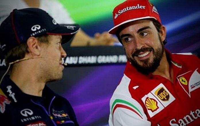 F1 Sebastián Vettel y los elogios a Fernando Alonso