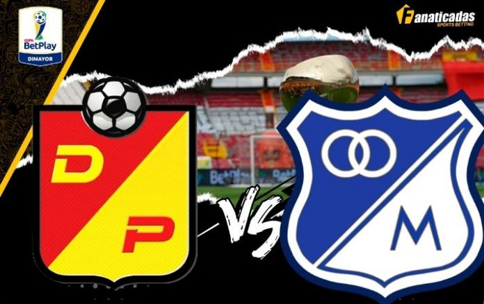 Liga Betplay Pereira vs. Millonarios Pronósticos y Previa