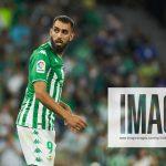 August 20, 2021, SEVILLA, SEVILLA, SPAIN: Borja Iglesias of Real Betis looks on during the spanish league, La Liga Santa