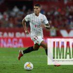 August 15, 2021, SEVILLA, SEVILLA, SPAIN: Erik Lamela of Sevilla in action during the spanish league, La Liga Santander,