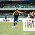Luca Taddeo August 21, 2021 – Verona, Italy Soccer Hellas Verona vs Sassuolo- Italian Serie A Football Championship 202