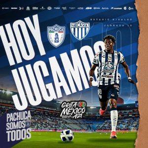 Apuéstale al partido entre Pachuca vs Necaxa por la Liga MX