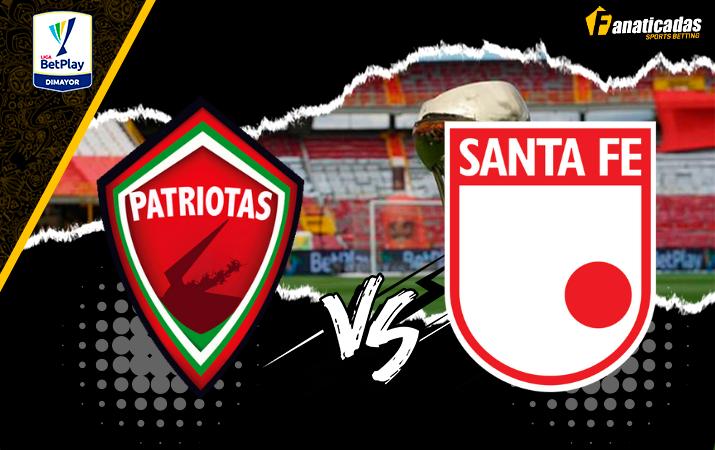 Liga Betplay Previa Patriotas vs. Santa Fe Pronósticos