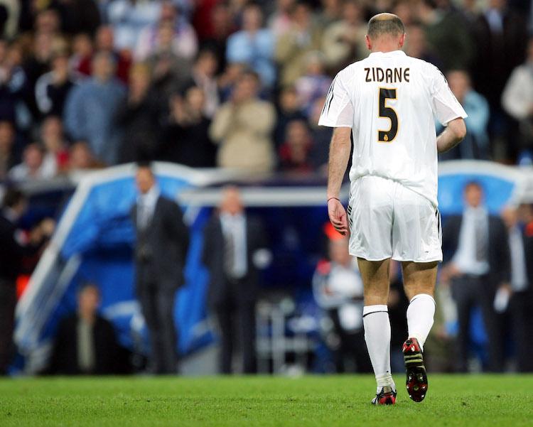 Real Madrid pone a la venta la 5 de Zidane