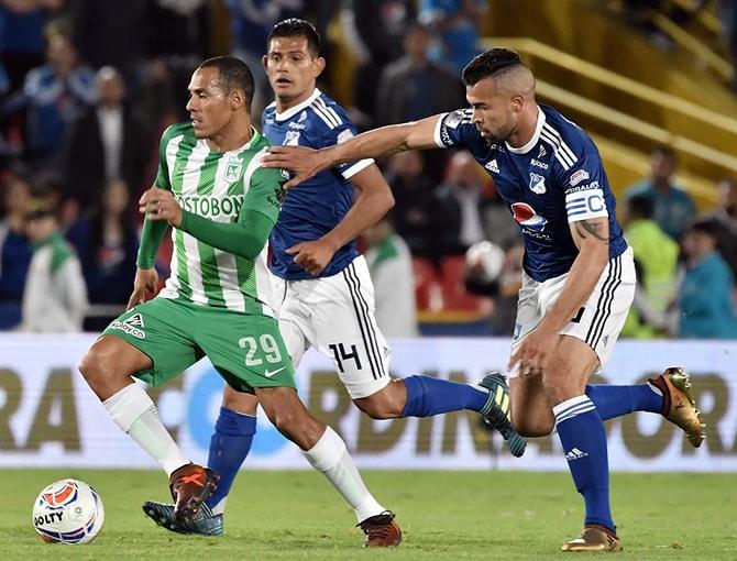 Millonarios FC - Atlético Nacional Liga Águila 2018-1