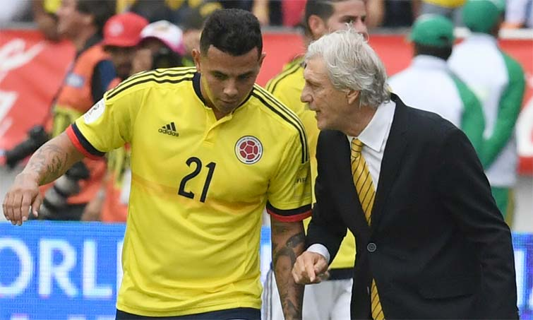 Edwin Cardona Jose Pekerman Seleccion Colombia