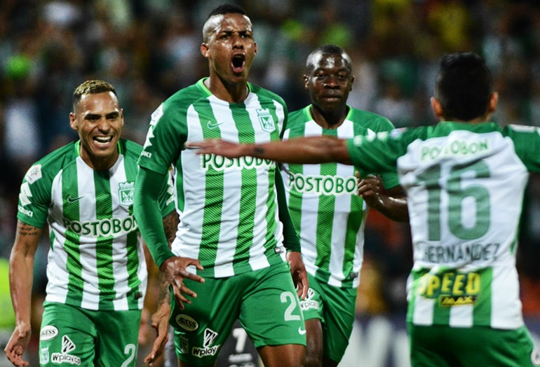 Steven Lucumí Atlético Nacional Copa Libertadores 2018