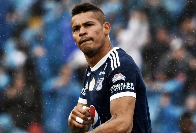 Ayron del Valle Millonarios FC Copa Libertadores 2018