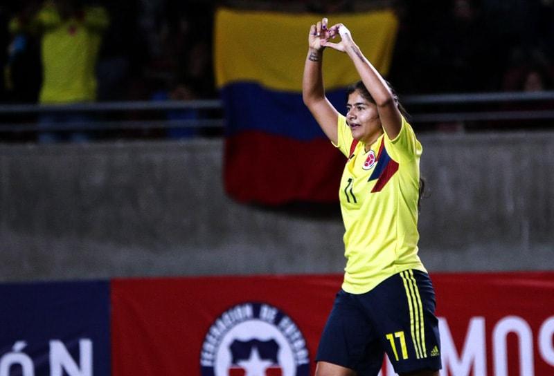 Catalina Usme – Selección Colombia - Copa América Femenina 2018