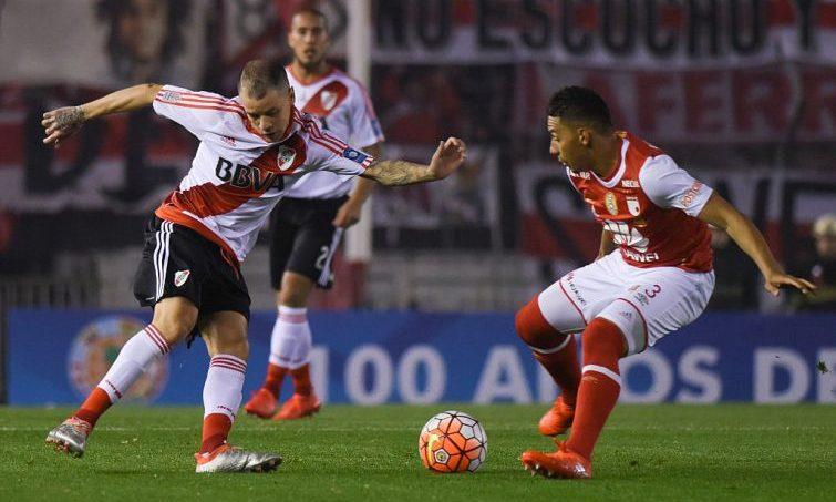 Santa Fe contra argentinos Yeison Gordillo