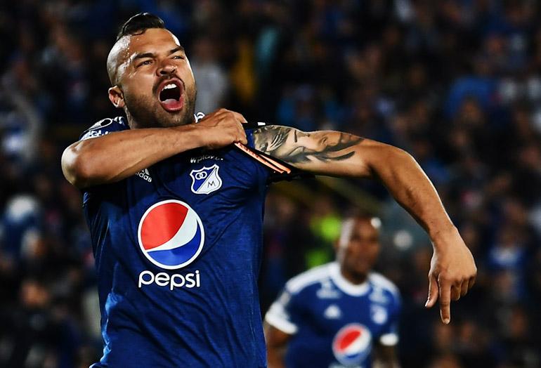 Andrés Cadavid Millonarios FC Copa Libertadores 2018