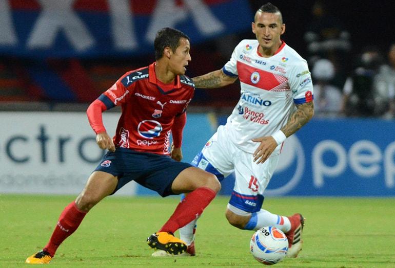 Andrés Ricaurte Medellín 1-0 Pasto Liga Águila 2018-1