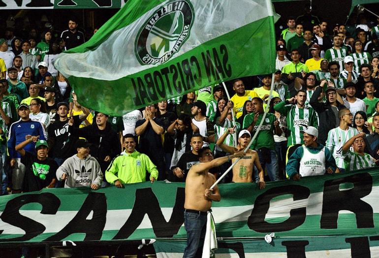 Hinchada Atlético Nacional