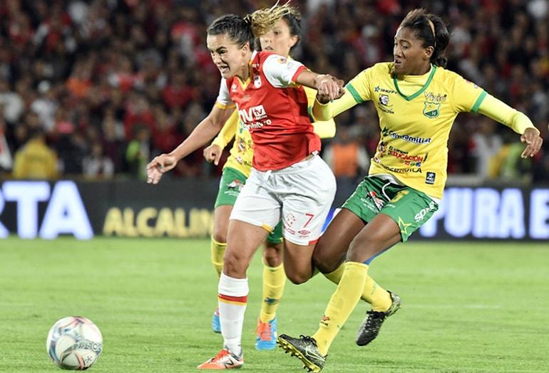 Independiente Santa Fe-Atlético Huila Liga Femenina Águila