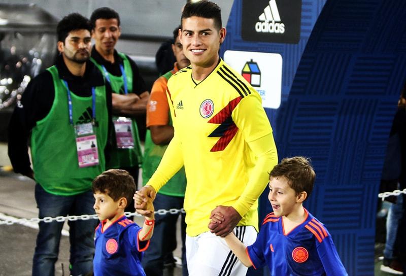 James Rodríguez despedida Selección Colombia