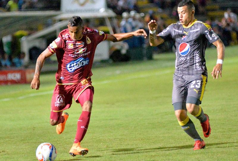 Tolima 1-0 Medellín Liga Águila 2018-1 I
