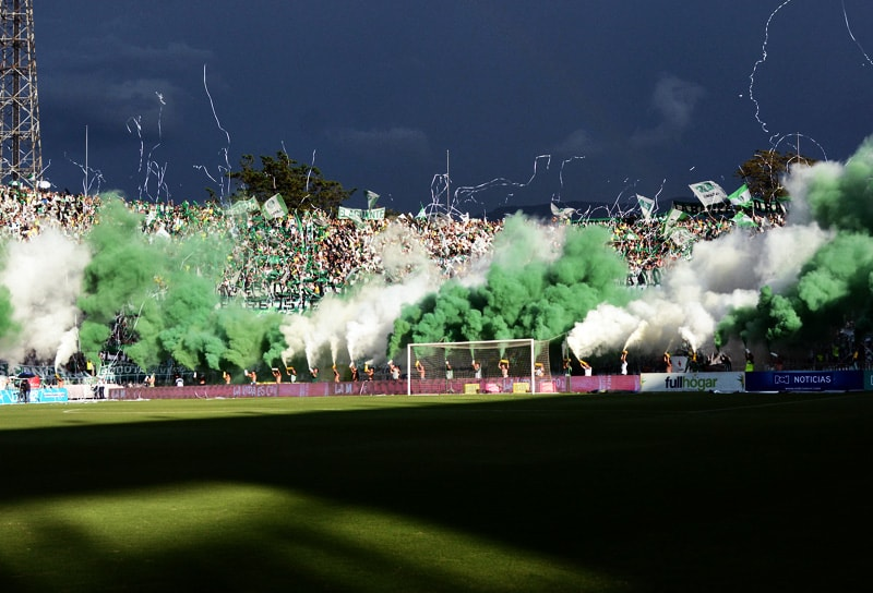Hinchada Atlético Nacional Liga Águila 2018-1
