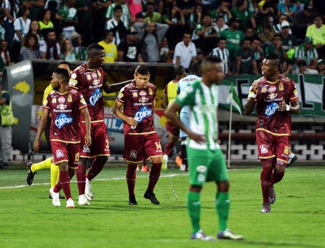 Atlético Nacional 1-2 Deportes Tolima Liga Águila 2018-II