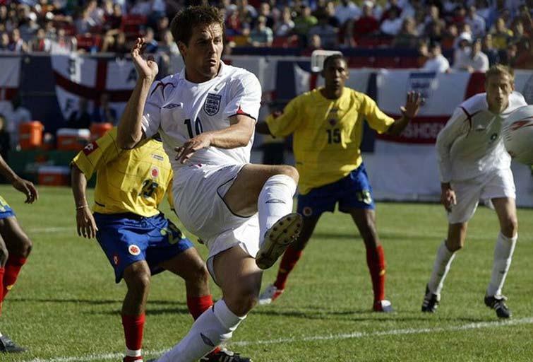 Michael Owen Selección Colombia